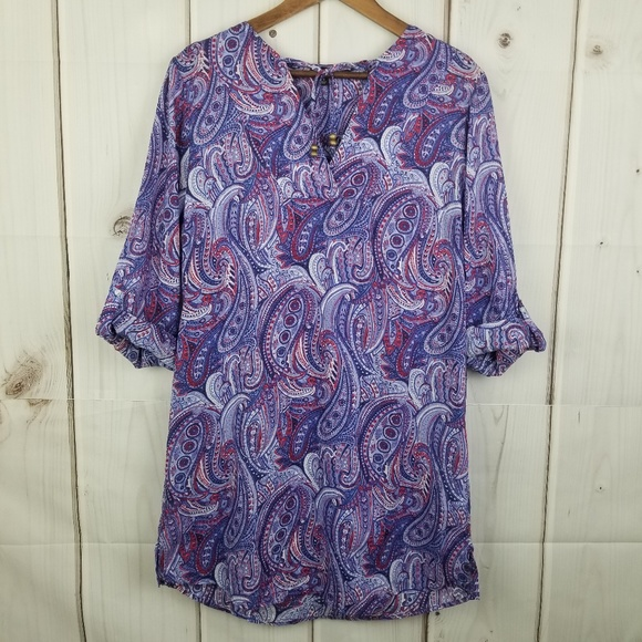 Talbots Other - Talbots Tunic Dress Cover-up Size Small